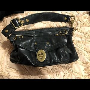 Coach black legacy bag